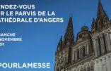 15 novembre 2020 à Angers – Nous voulons la Messe !