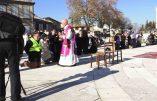 Reportage vidéo à la Messe en plein air en Avignon organisée par Civitas