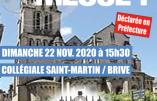 22 novembre 2020 à Brive – Nous voulons la Messe !