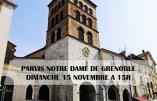 15 novembre 2020 à Grenoble – Nous voulons la Messe !