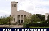 15 novembre 2020 à Metz – Nous voulons la Messe !