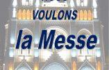 15 novembre 2020 à Nice – Nous voulons la Messe !