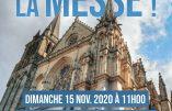 15 novembre 2020 à Vannes – Nous voulons la Messe !