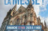 22 novembre 2020 à Vannes – Nous voulons la Messe !