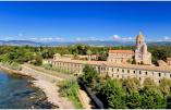 L'abbaye de Lérins, sur l'île Saint-Honorat au large de Cannes