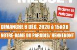 6 décembre 2020 à Hennebont (Bretagne) – Nous voulons la Messe