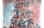 Liberté, égalité, fraternité ? Illustration par Alban Guillemois