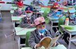 Comment les écoliers chinois sont dressés à la distanciation sociale