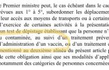 Un projet de loi liberticide qui rendrait la France plus sévère à l'égard des non-vaccinés contre le Covid-19 qu'à l'égard des terroristes assignés à résidence