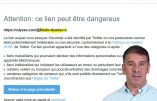 Twitter complice du règne de la peur ou comment tenter de limiter l'influence d'Alexis Cossette