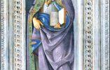 Mardi 5 janvier 2021 – Vigile de l'épiphanie – Mémoire de saint Télesphore, Pape et Martyr – Saint Siméon, Stylite