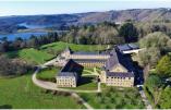 L'abbaye de Landévennec est située près de Crozon, à la pointe de la Bretagne ©Abbaye de Landévennec