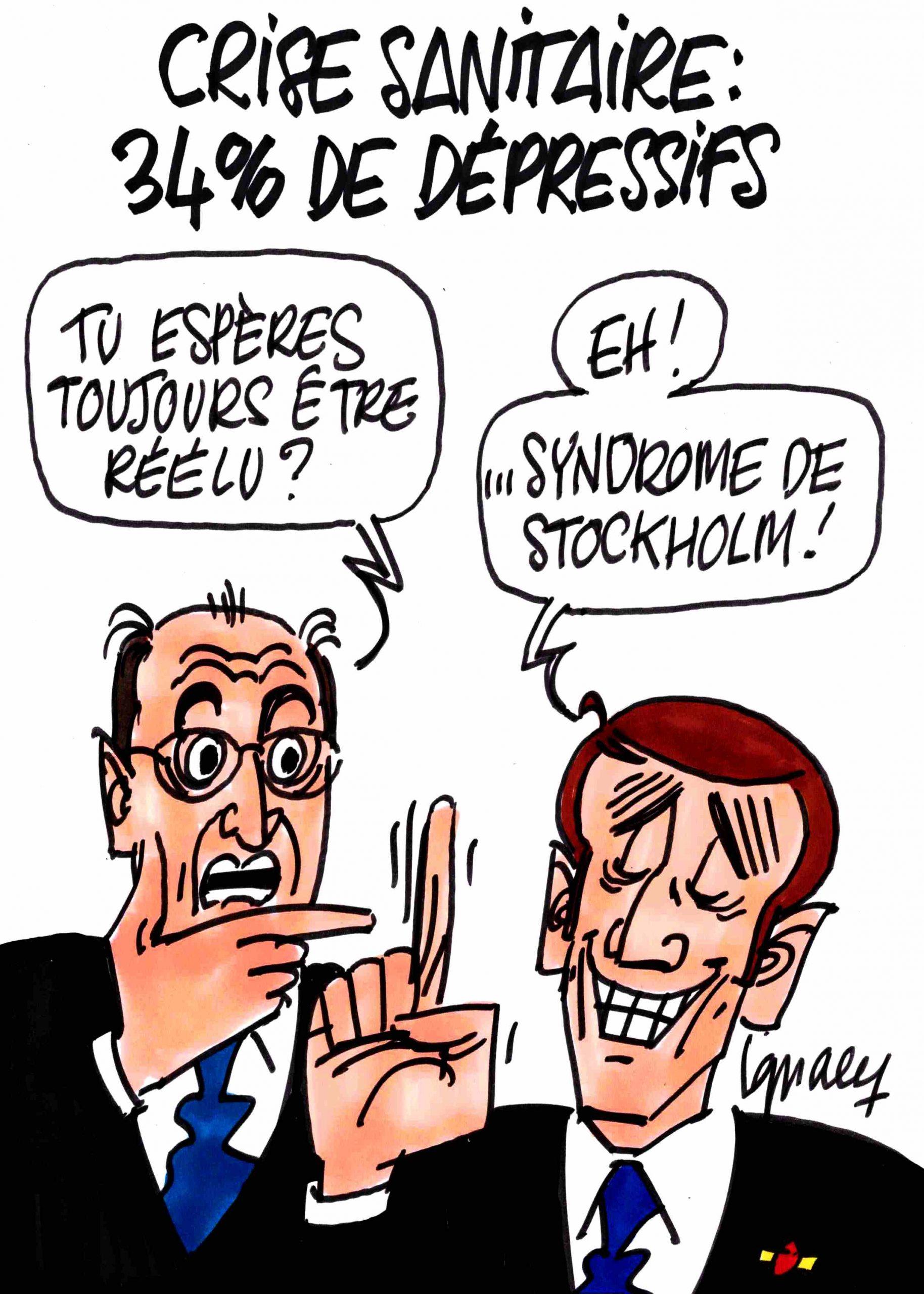 Ignace - 34% des Français dépressifs