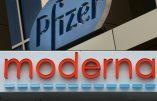 Pfizer et Moderna : une efficacité en chute libre, fin de l'entourloupe ?