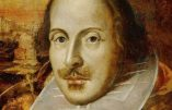"Shakespeare, victime de la ""cancel culture"""