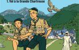 BD – Vol à la Grande Chartreuse : la première aventure de la patrouille du Faucon