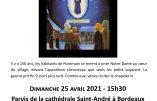 Participez au chapelet public pour la France le dimanche 25 avril 2021