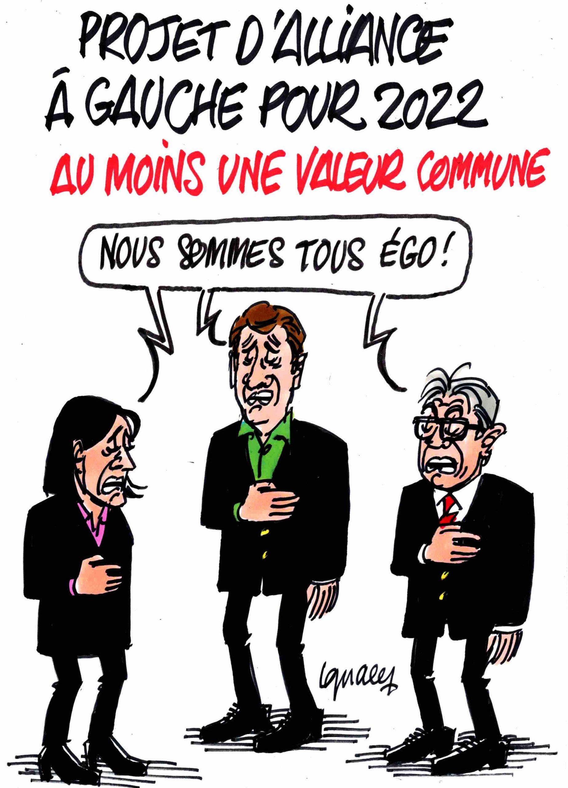 Ignace - Projet d'alliance à gauche pour 2022
