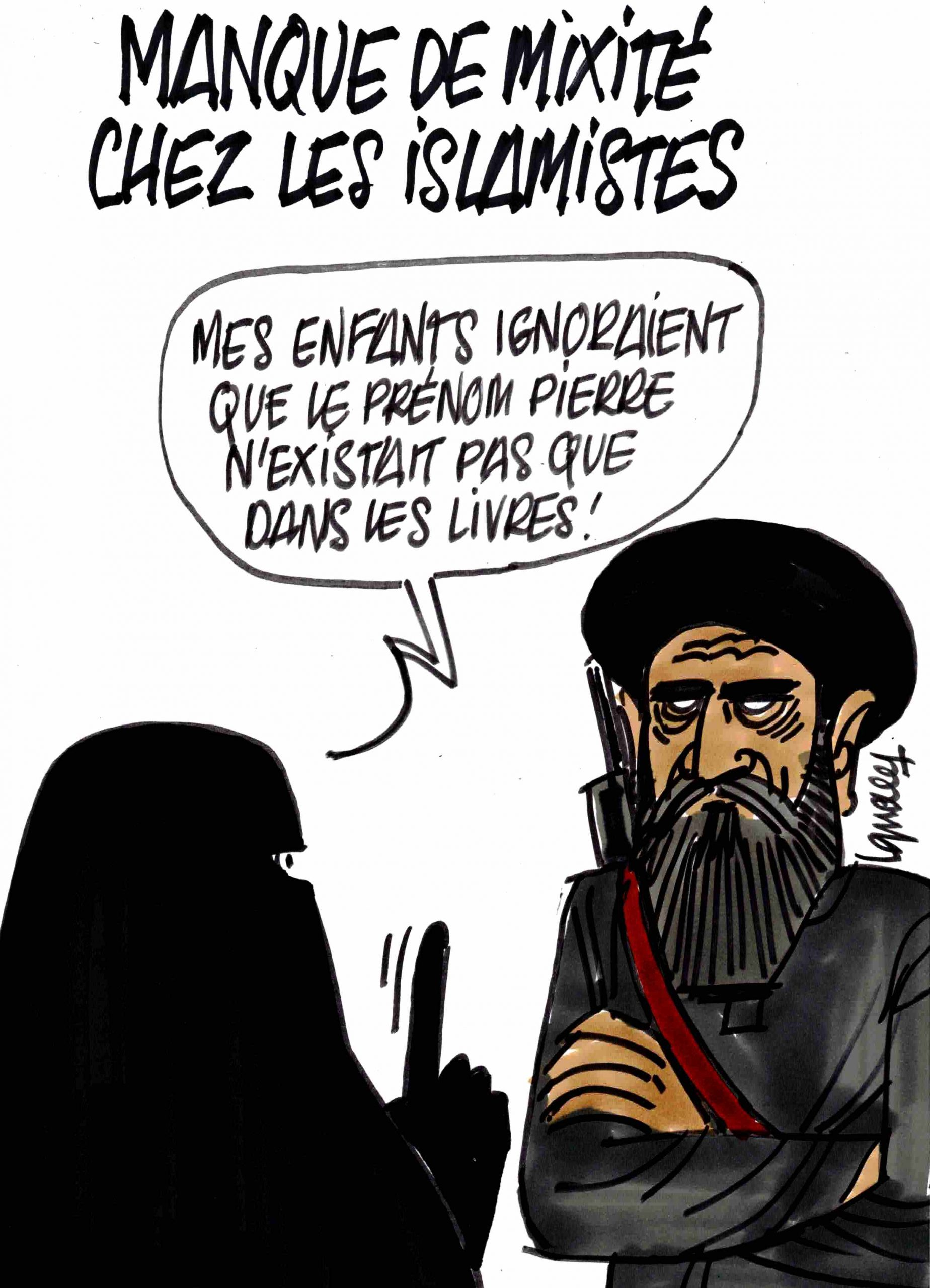 Ignace - Manque de mixité chez les islamistes