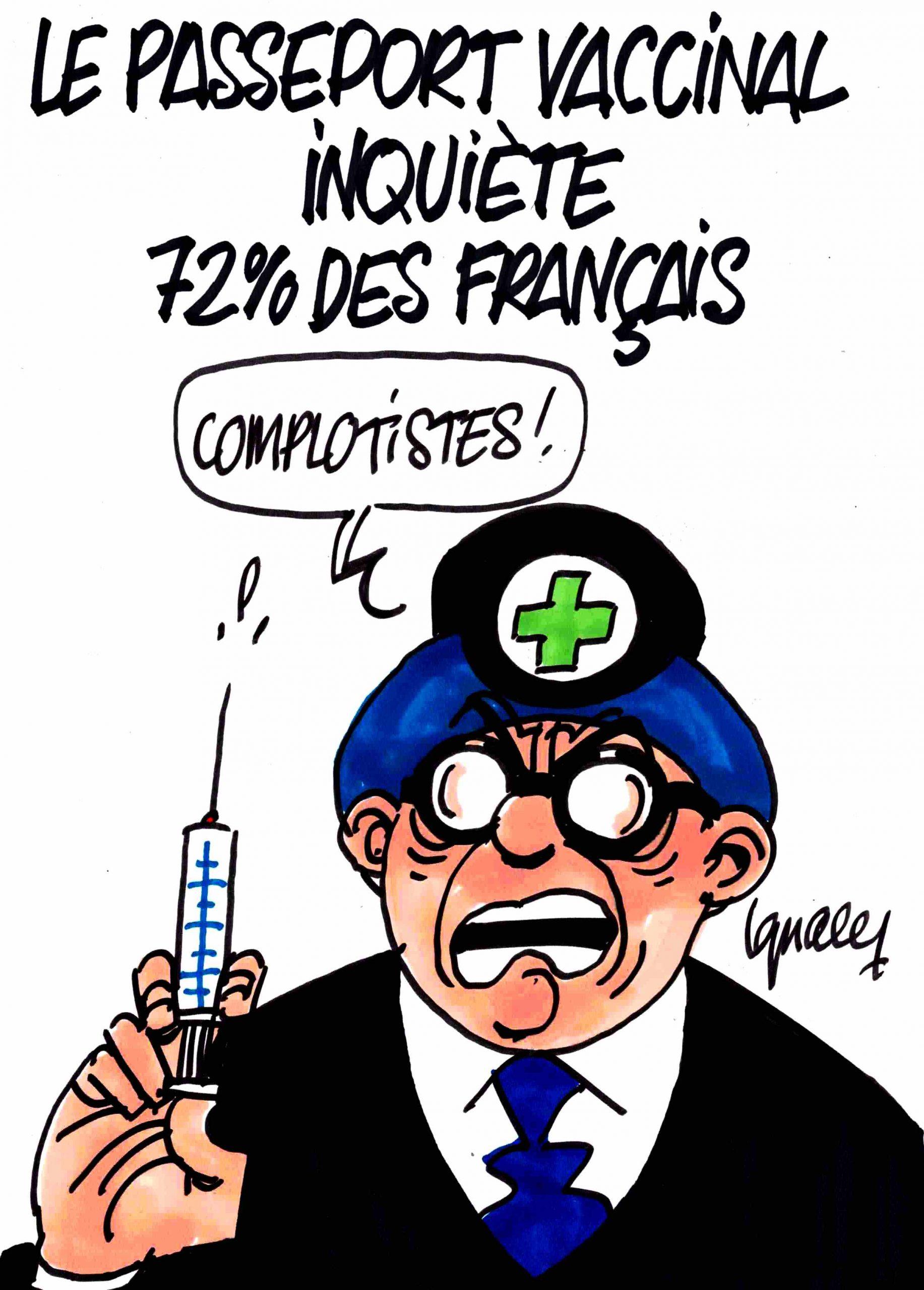 Ignace - Le passeport vaccinal inquiète 72% des Français
