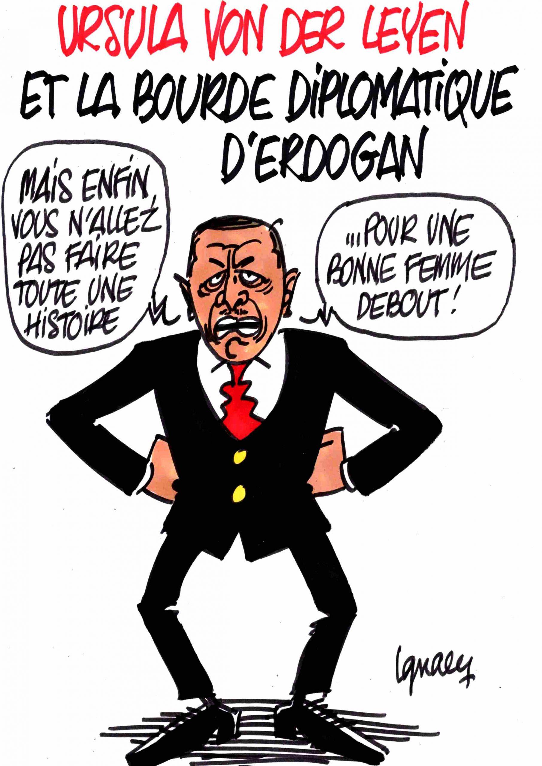 Ignace - Pas de siège pour Van Der Leyen