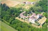 L'abbaye du Rivet à Auros, en Aquitaine  © Abbaye du Rivet