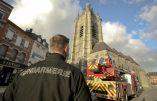 Sinistre criminel dans la collégiale d'Avesnes-sur-Helpes
