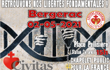 Retrouvons nos libertés fondamentales ! Chapelet pour la France à Bergerac le 2 mai 2021