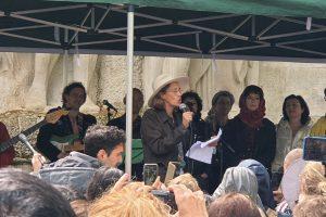 Le discours de la comédienne Anny Duperey à la manifestation contre le passe sanitaire