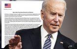 150 généraux et amiraux américains dénoncent la tyrannie de l'administration Biden, les restrictions sanitaires excessives et l'immigration qui met en péril la sécurité nationale