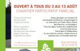 Venez participer au chantier participatif du Foyer Notre-Dame des Pauvres !