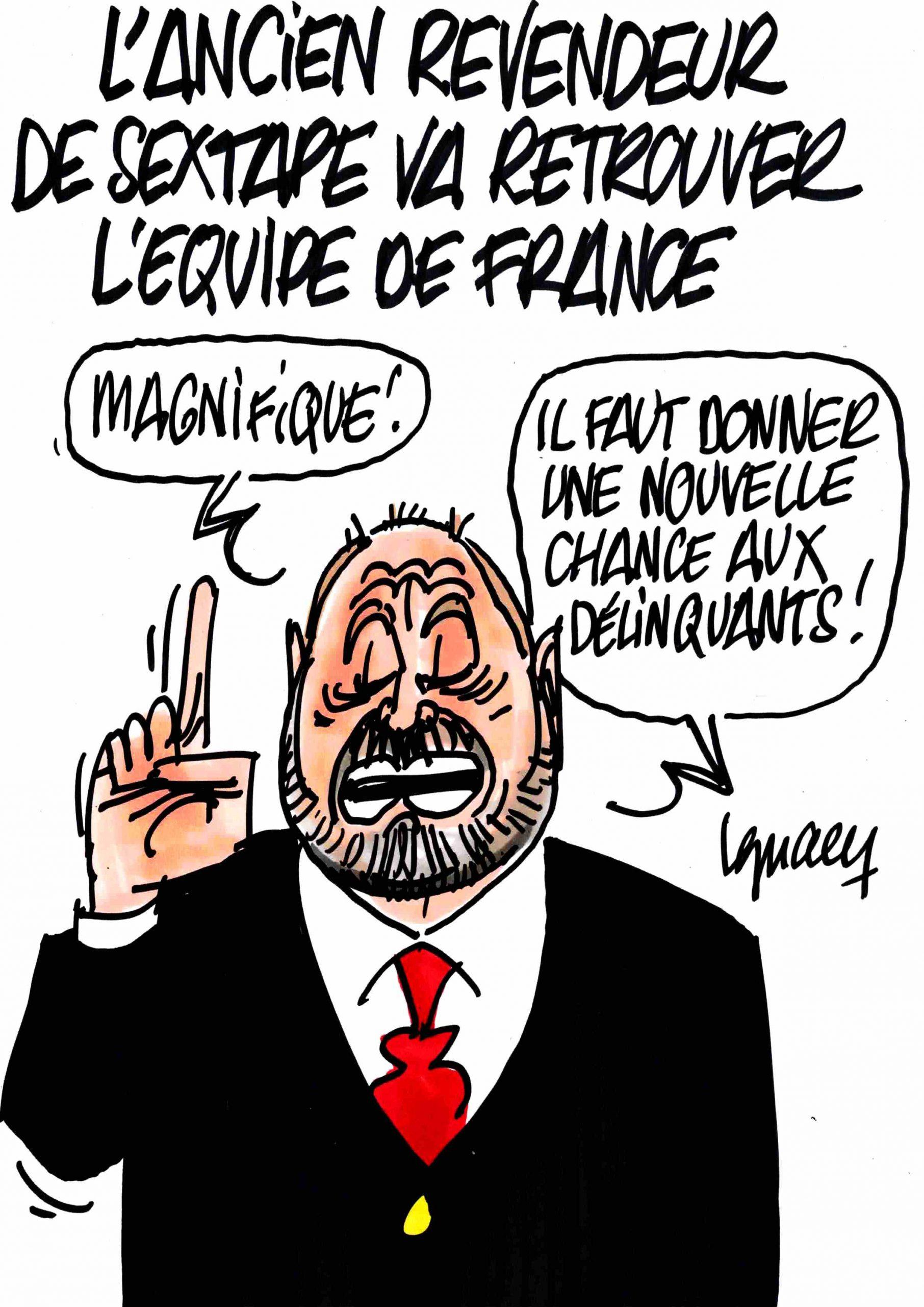 Ignace - L'équipe de France fait de la réinsertion