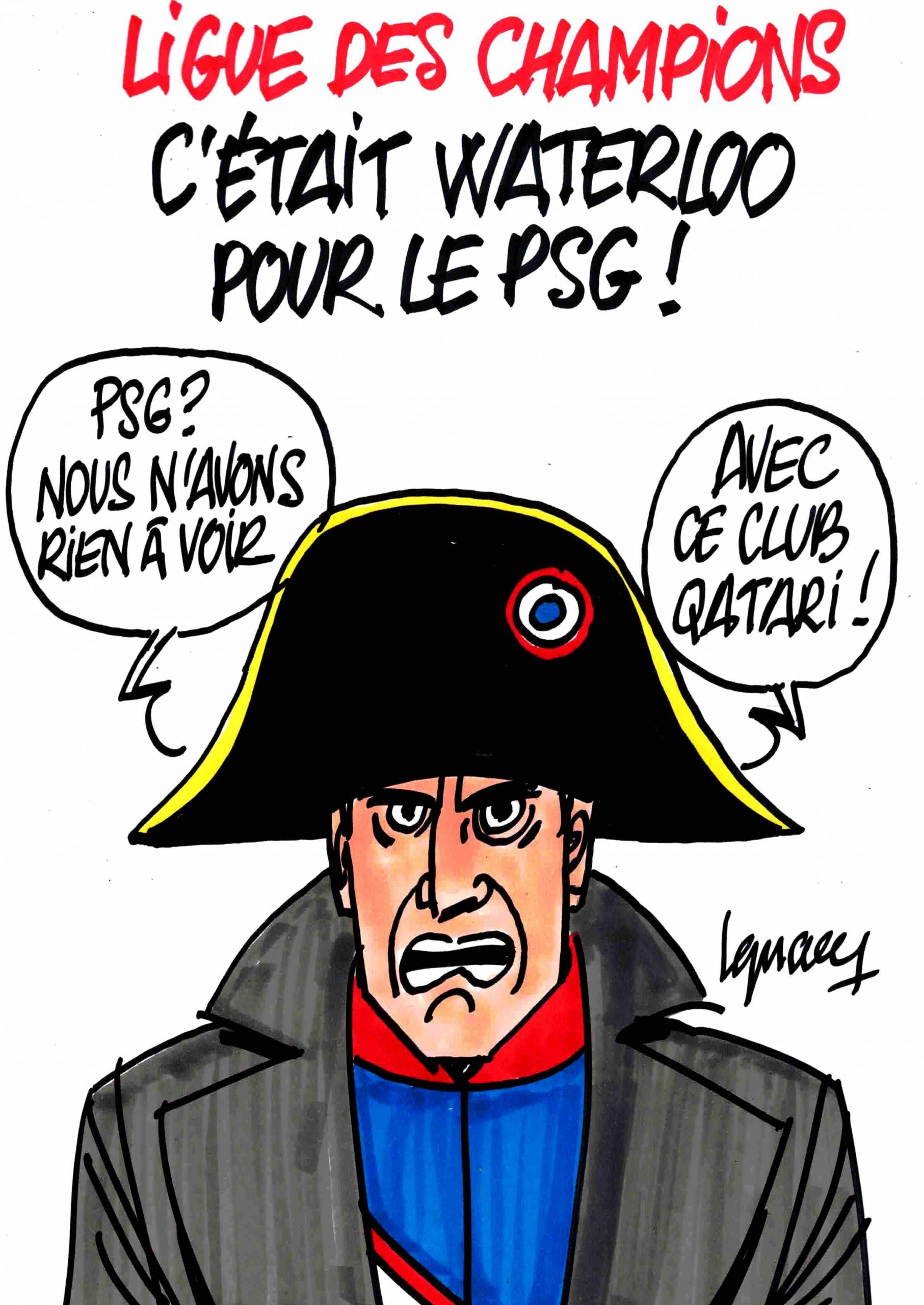 Ignace - Waterloo pour le PSG !