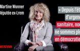 """Martine Wonner, parlementaire ex-LREM : """"Nous sommes en dictature sanitaire"""" – Entretien vidéo"""