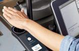 """Le """"scanner manuel"""", Amazon teste le paiement via la paume de la main"""