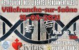 15 mai 2021 à 15h à Villefranche-sur-Saône – Chapelet public pour la France et nos libertés fondamentales
