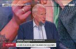 Le Général Emmanuel de Richoufftz assume ne pas vouloir se faire vacciner contre le Covid