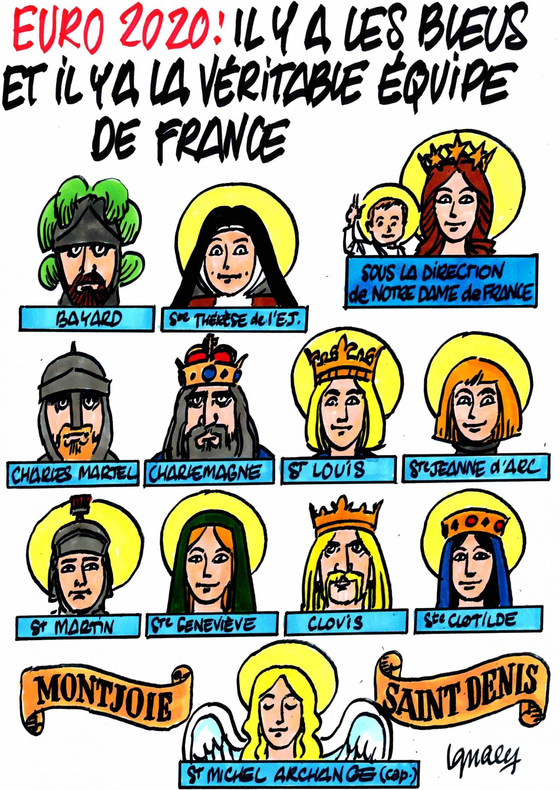 Ignace - Les Bleus et la véritable équipe de France
