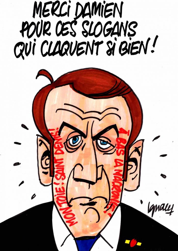 Ignace - Merci Damien pour ces slogans qui claquent si bien !
