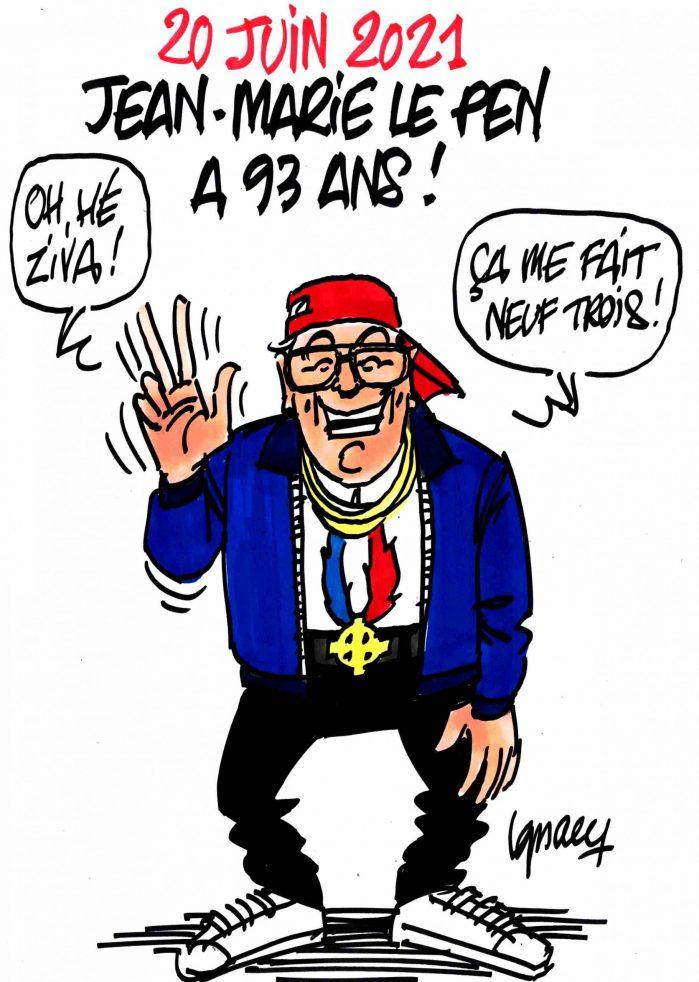 Ignace - Jean-Marie Le Pen à 93 ans !