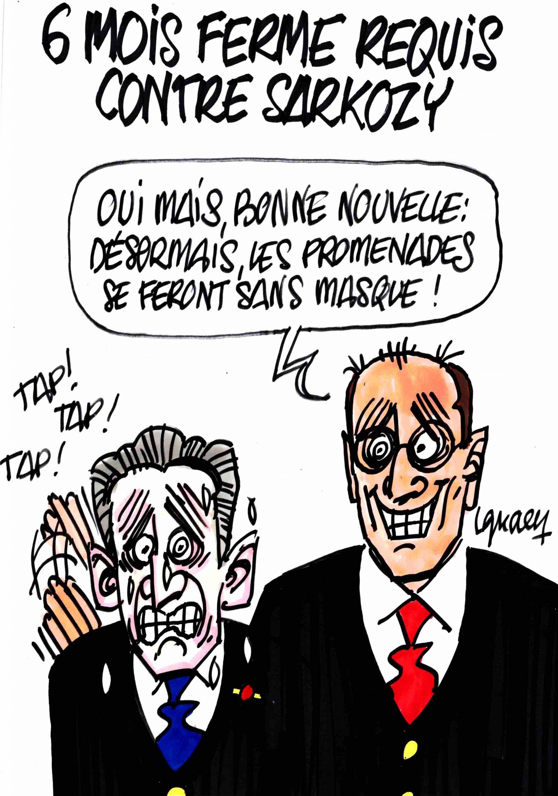 Ignace - Six mois ferme requis contre Sarkozy