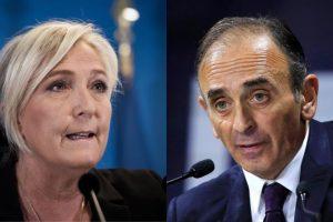 Marine Le Pen se situe de plus en plus à la gauche de Zemmour