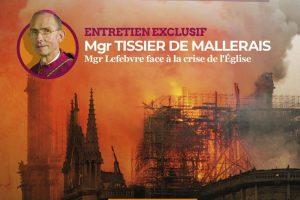 Mgr Tissier de Mallerais accorde un entretien exclusif à la revue Civitas