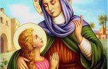 Lundi 26 juillet – Sainte Anne, mère de la Bienheureuse Vierge Marie