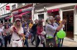 Manifestation à Bayonne contre la dictature sanitaire et la vaccination obligatoire