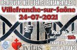Chapelet public pour la France à Villefranche-Sur-Saône samedi 24 juillet à 15 H 00