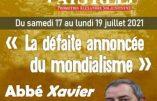 L'abbé Beauvais interviendra à l'Université d'été du Pays Réel