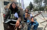 FILE PHOTO: Members of Taliban forces sit at a checkpost in Kabul, Afghanistan August 17, 2021. REUTERS/Stringer NO RESALES. NO ARCHIVES/File Photo