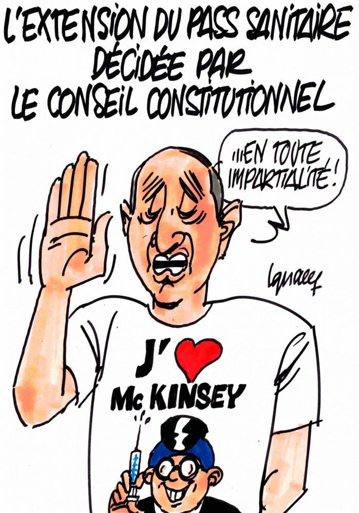 Ignace - Extension du pass sanitaire décidée par le Conseil constitutionnel