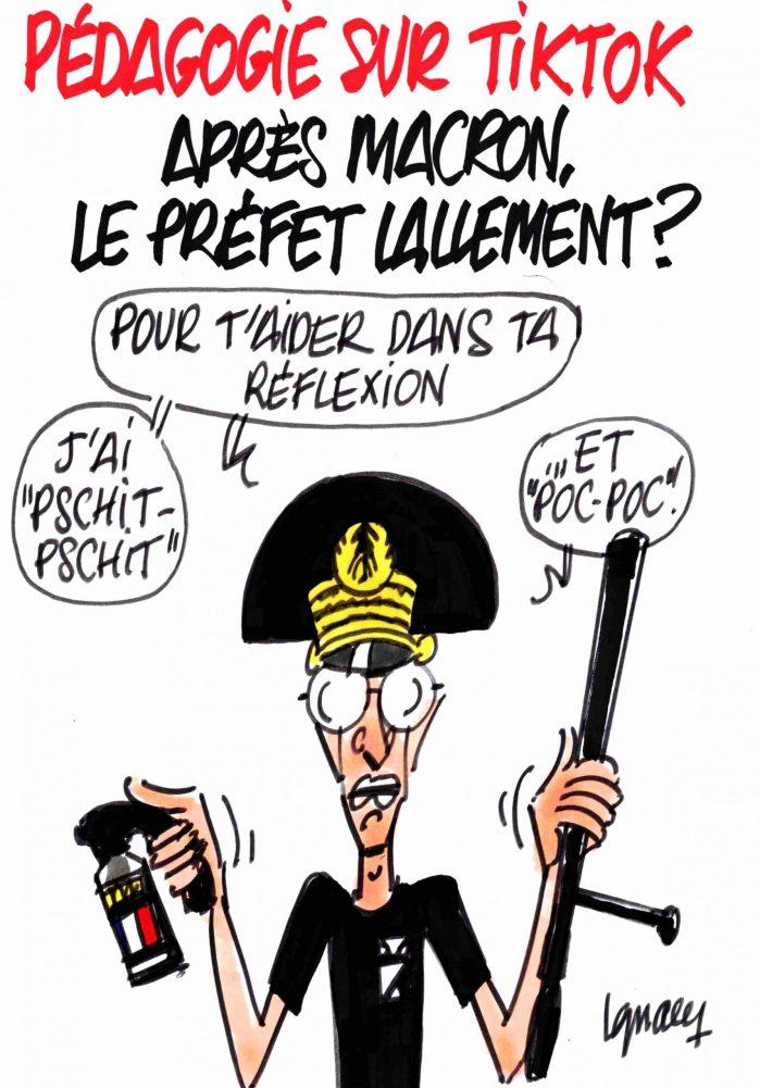Ignace - Pédagogie sur TikTok avec le préfet Lallement